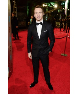 Michael Fassbender in Burberry