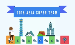 2016 Asia Super Team competition opens registration on July 1, 2016.