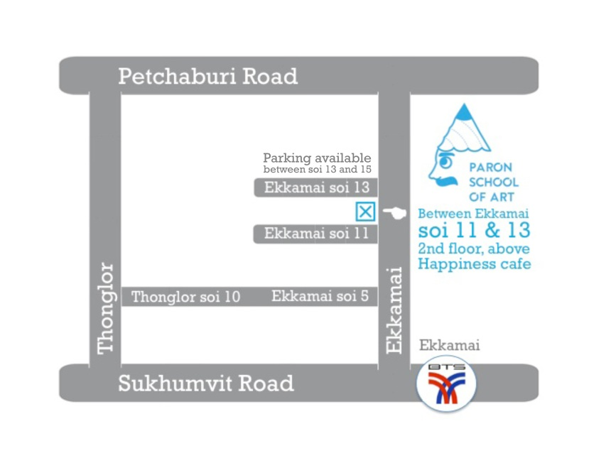 PARON School of Art Location Map (1)